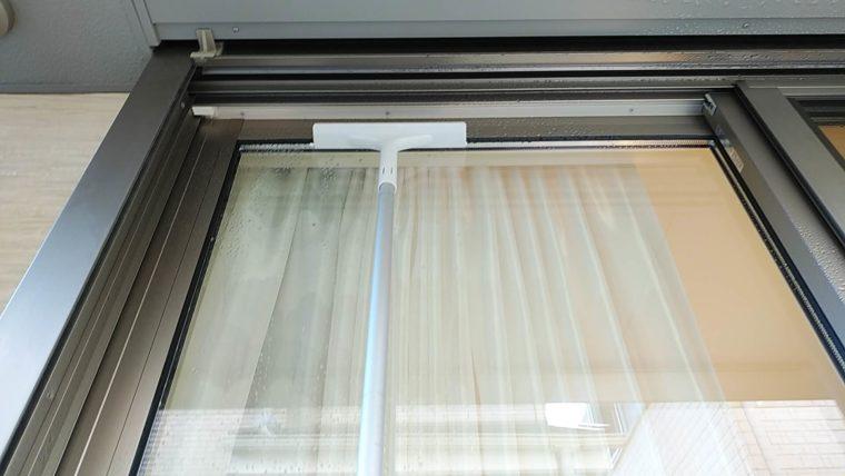 水だけ洗剤なしで簡単にきれいになる窓掃除の必需品はスクイージー