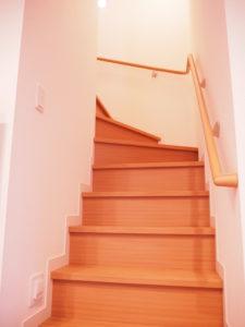 マイホームの階段