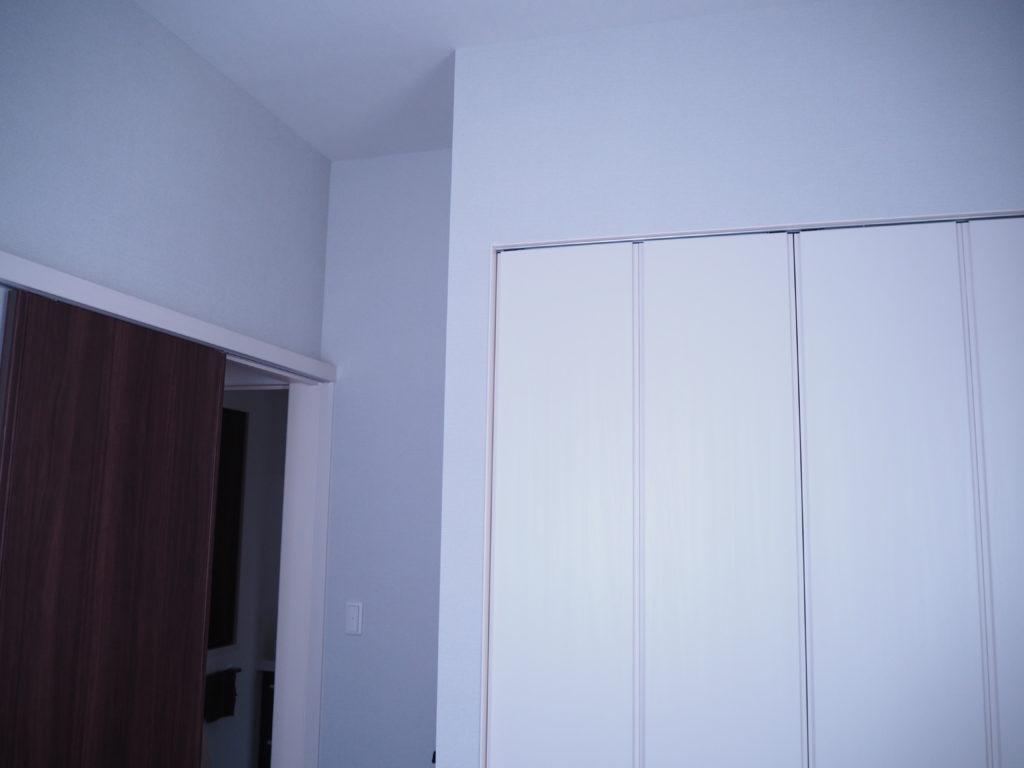入居前のマイホーム子供部屋のクローゼット