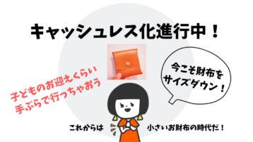 究極のミニマル財布をレビュー!キャッシュレス化の影響で小さい財布が人気です!