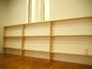 DIYした絵本棚